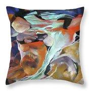 Cavernous Tumble Throw Pillow