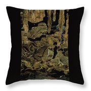 Caverns Throw Pillow