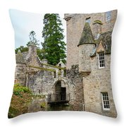 Cawdor Castle Throw Pillow