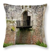 Cawdor Castle Drawbridge Throw Pillow