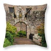 Cawdor Castle Entrance Throw Pillow