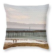 Caycous Pier II Throw Pillow