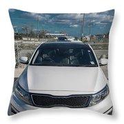 Cayman Islands Cruiser Throw Pillow