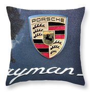 Cayman S Throw Pillow