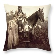 Cayuse Throw Pillow