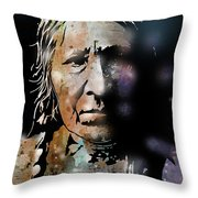 Cayuse Woman Throw Pillow