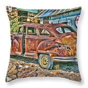 Old Timer 2 Throw Pillow