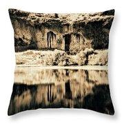 Columbia Basin Abstract Throw Pillow