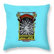 Cc At Dillo Throw Pillow