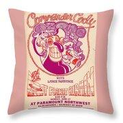 Cc At Paramount Throw Pillow