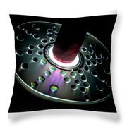 Cd Droplets Throw Pillow