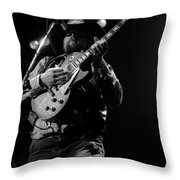 Cdb Winterland 12-13-75 #1 Throw Pillow