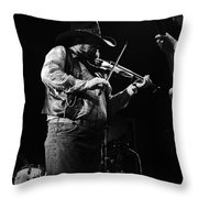 Cdb Winterland 12-13-75 #10 Crop 2 Throw Pillow