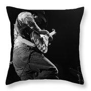 Cdb Winterland 12-13-75 #19 Throw Pillow