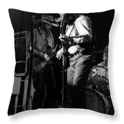 Cdb Winterland 12-13-75 #2 Throw Pillow