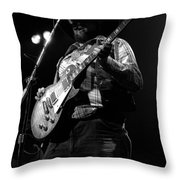 Cdb Winterland 12-13-75 #25 Throw Pillow