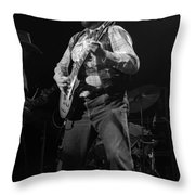 Cdb Winterland 12-13-75 #28 Throw Pillow