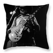 Cdb Winterland 12-13-75 #4 Throw Pillow
