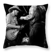 Cdb Winterland 12-13-75 #40 Crop 2 Throw Pillow