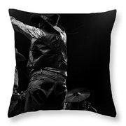 Cdb Winterland 12-13-75 #44 Throw Pillow