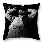 Cdb Winterland 12-13-75 #48 Throw Pillow