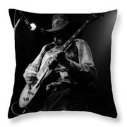Cdb Winterland 12-13-75 #5 Throw Pillow