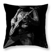 Cdb Winterland 12-13-75 #51 Enhanced Bw Throw Pillow