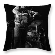 Cdb Winterland 12-13-75 #7 Throw Pillow