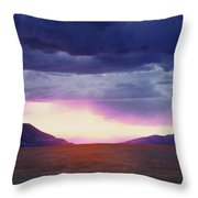 Cdt Sunset Throw Pillow