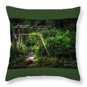 Cedar Arbor Throw Pillow