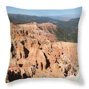 Cedar Breaks I - Utah Throw Pillow