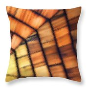 Cedar Glass Throw Pillow
