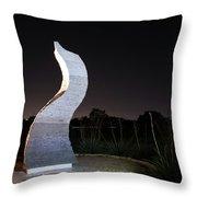 Cedar Park Sculpture Flame Throw Pillow