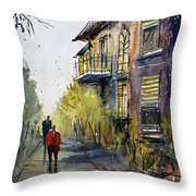 Cedarburg Shadows Throw Pillow by Ryan Radke
