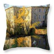 Cedarburg Wool Mill Throw Pillow