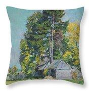 Cedars Throw Pillow