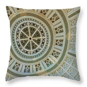 Ceiling Detail Throw Pillow