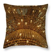 Ceiling Lamp Throw Pillow