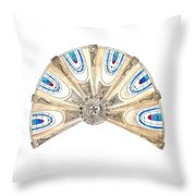 Ceiling Of Saint Etienne Throw Pillow