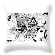 Ceilings And Floors 1 Throw Pillow