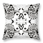 Ceilings And Floors Throw Pillow