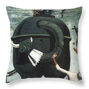 Celebes Throw Pillow