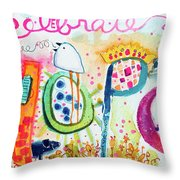 Celebrate Hope #2 Throw Pillow