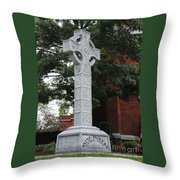 Celebrating The Celtic Heritage At St Patricks Church Throw Pillow