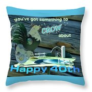 Celebration Card  Throw Pillow