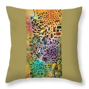 Celebration Day - 1/2 Diptych Throw Pillow