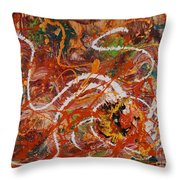 Celebration II Throw Pillow