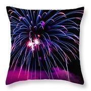 Celebration IIi Throw Pillow