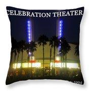 Celebration Movie Theater 1994 Throw Pillow