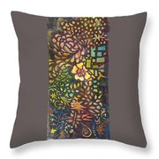 Celebration Night - 1/2 Diptych  Throw Pillow